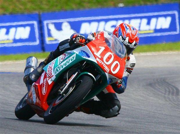 Foto: Carlos Cruz, piloto da 500cc do Brasileiro de Motovelocidade