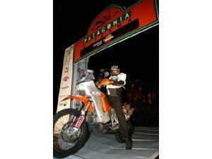 Foto: O brasileiro Rodolpho Mattheis no Por Las Pampas Rally 2007