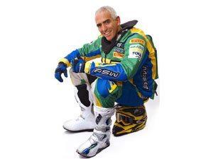 Foto: Dimas Mattos representa o Brasil no Rally Dakar 2009