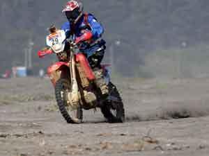 Foto: Juan Pablo Zegers Correa no Por Las Pampas Rally 2007