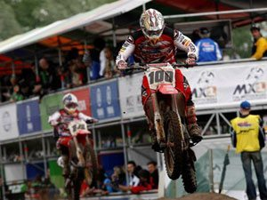 Foto: Kevin Strijbos, piloto Honda no Mundial de Motocross