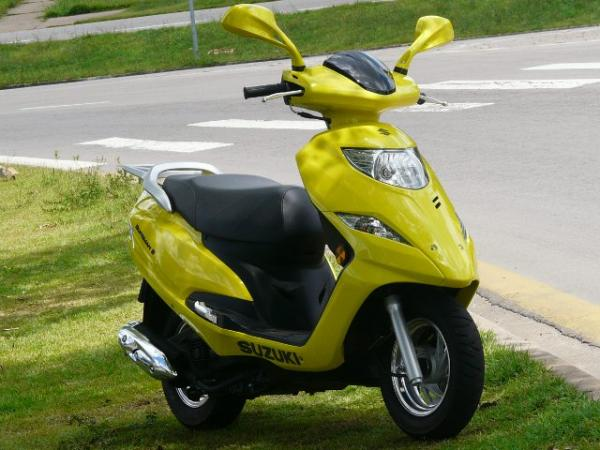 Burgman i é o novo scooter 125 da Suzuki