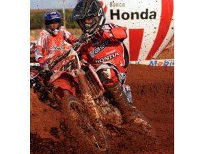 Foto: Thiago Formehl, piloto do Team Honda na categoria 85cc