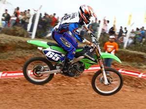 Foto: Anderson Cidade, piloto patrocinado pela Pro Tork, luta por t¡tulo da MX1 no Campeonato Catarinense de Motocross