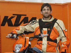 Foto: Tiago Fantozzi fecha parceria com piloto potiguar, Márcio Oliveira,