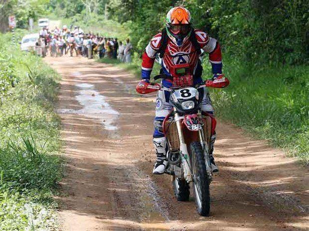 Foto: Rally Bolpebra, exclusivo para motos, fez parte do Brasileiro