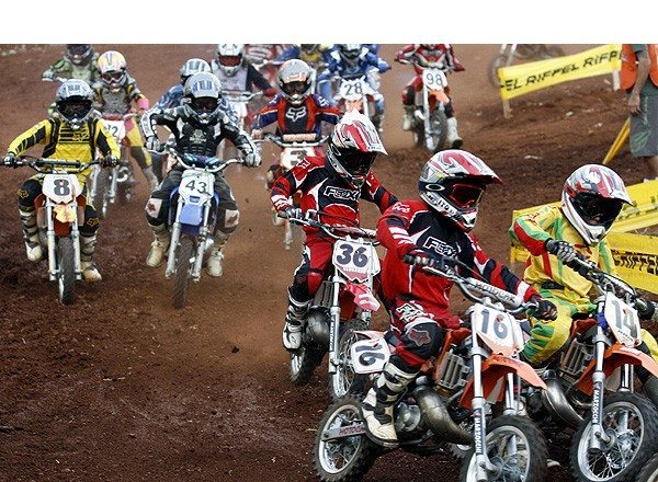 Foto: Brasileiro de Minicross re£ne a nova gera‡Æo do esporte