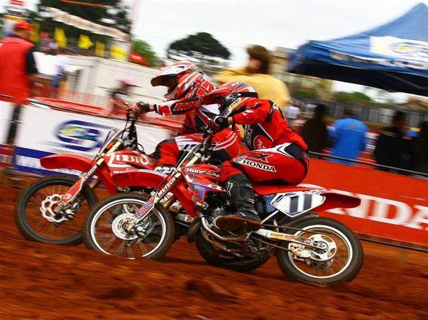Foto: Rodrigo Rodrigues, piloto da categoria 85cc