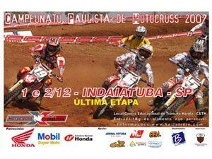 Campeonato Paulista de Motocross 2007 - Final