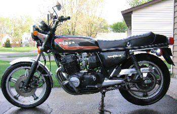 Foto: 750 Honda 1978 Supersport - Bitenca