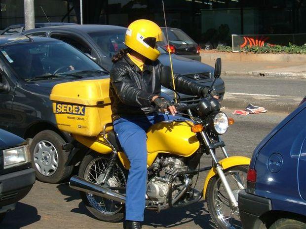 Carga de motoboys deverá ter legislação