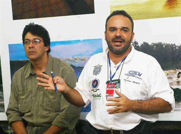Foto: Lincoln Duarte (… esquerda), presidente da CBM, e Cassiano Marques, do Acre