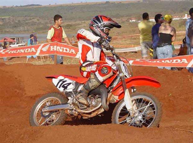 Foto: Weverton Arantes, vencedor da 5¦ etapa em Formosa
