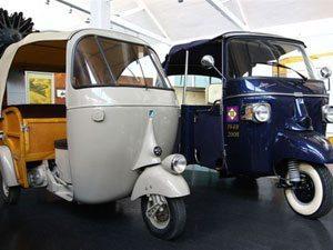 Charmoso, Piaggio Ape completa 60 anos