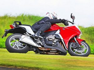 Chega a Honda VFR 1200F
