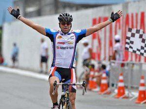 Ciclista de RP vence a 1ª etapa da categoria Sênior do 25º Torneio de Verão