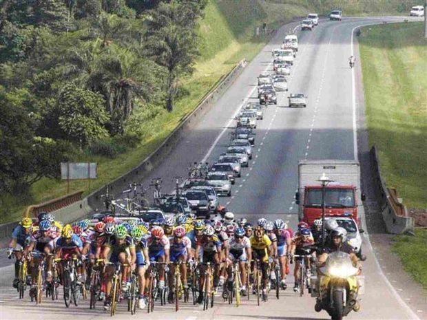 Ciclistas disputam volta do Estado de SP de olho no Pan