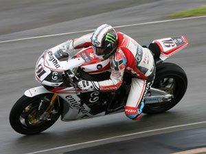 Foto: Leon Haslam, piloto Honda no Mundial de Superbike
