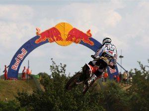 Foto: Mickael Pichon, piloto Honda no Mundial de Motocross