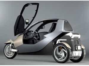 Clever Car – protótipo de triciclo urbano inglês