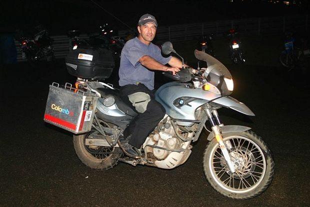 Foto: Carlos Magno inclui São Paulo Moto Festival em roteiro para conhecer diversos países