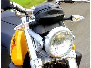 Foto: Com motor de um cilindro e 652 cm³, funcionalidade da moto alemã supera seu visual espartano
