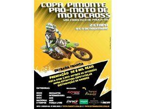 Copa Pimonte Pró-Moto de Motocross, vai rolar a 2ª etapa.