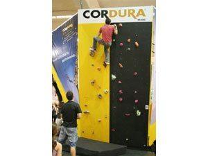 Cordura®  apresenta atração inédita na Adventure Sports Fair 2008