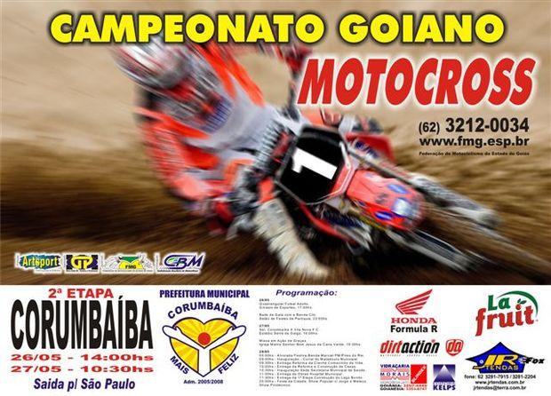 Corumbaíba recebe a 2ª etapa do Goiano do Motocross