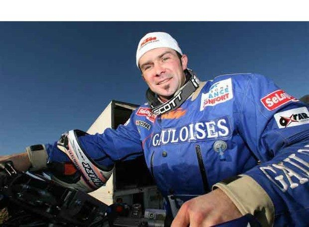 Foto: Piloto Cyril Despres Campeo do Dakar 2005