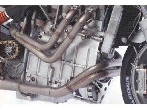 Foto: Motor 4 cilindros em linha longitudinal