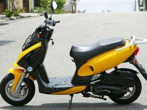 Foto: SCO 150, com motor quatro tempos de 150 cc