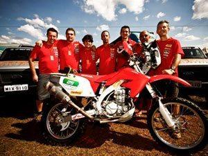 Deni do Nascimento se prepara para etapas finais do Rally dos Sertões