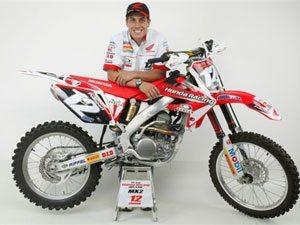 Foto: Swian Zanoni, piloto da categoria Pro do Team Honda no Arena Cross