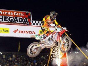Foto: Swian Zanoni, piloto da equipe Honda/ASW