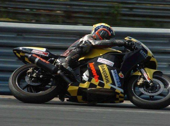 Doca é bicampeão brasileiro nas 500cc