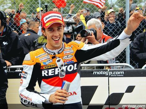 Dovizioso estreia-se a vencer no MotoGP em corrida atribulada