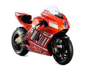 Ducati de Stoner e Bayliss no Salão da Motocicleta