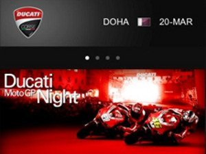Ducati na MotoGP pelo celular