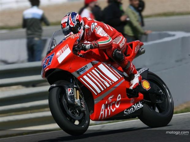 Ducati voltou a ser a mais rápida em Jerez