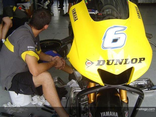 Dunlop desejosa por continuar no MotoGP