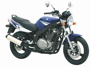 Foto: GS 500 azul