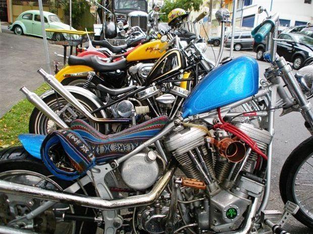 Em sua 3º edição, o evento GM Swap Meet, reúne aficionados por motos Harley em SP