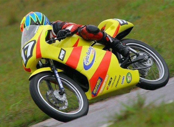 Empate técnico na motovelocidade, categoria 125cc