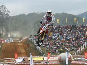 Foto: Wellington Garcia representa o Brasil no Motocross das Na‡äes