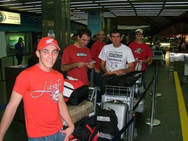 Foto: Equipe brasileira embarca para os Estados Unidos