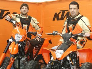 Foto: Tiago fantozzi e Márcio Oliveira garantiram bons resultados na segunda etapa do campeonato, em São Manuel
