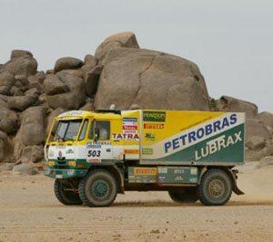 Foto: CaminhÆo da Equipe Petrobras Lubrax no Rally Dakar 2007