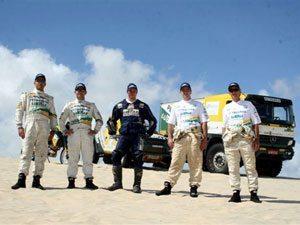 Equipe Petrobras Lubrax já está na Argentina e checa veículos