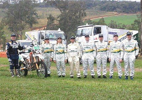 Equipe Petrobras Lubrax tenta ampliar seu recorde de vitórias no Rally dos Sertões